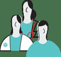 Healthcare Team Transparent